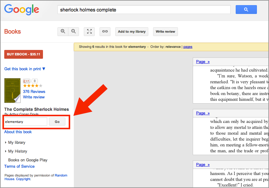 Any Book From Google Books For